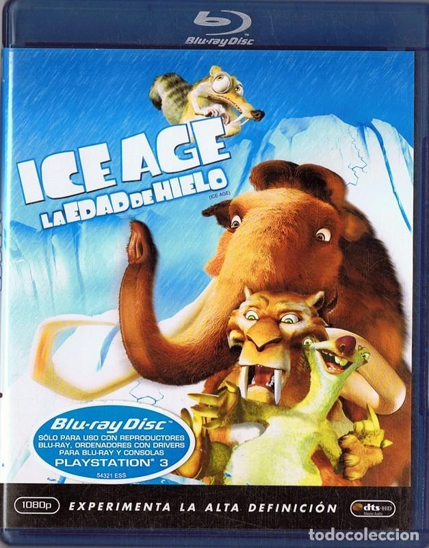 ICE AGE LA EDAD DE HIELO (Cine - Películas - Blu-Ray Disc)