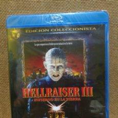 Cine: HELLRAISER III [ BLURAY ] - PRECINTADO -. Lote 134432331