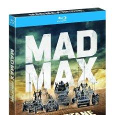 Cine: COLECCION MAD MAX PRECINTADA - LAS 4 PELICULAS EN BR + LA VERSION BLANCO Y NEGRO DE FURY ROAD EN BR . Lote 134645202