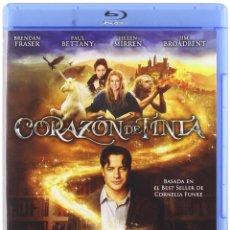 Cine: CORAZON DE TINTA - BLURAY COMO NUEVO, AVENTURAS FANTASTICAS CON BRENDAN FRASER. Lote 212474186