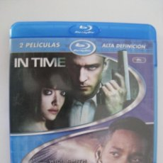 Cine: BLU-RAY - IN TIME / YO, ROBOT - 2 PELICULAS.. Lote 135118918