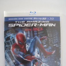 Cine: BLU-RAY - THE AMAZING SPIDERMAN - EDICION 2 DISCOS.. Lote 135142078