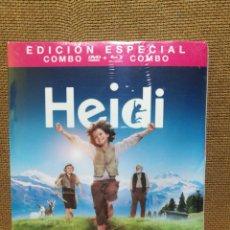 Cine: HEIDI EDICIÓN ESPECIAL- DVD+BLURAY PRECINTADA. Lote 135523082