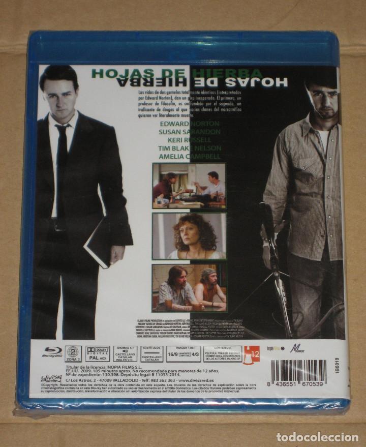 (SIN ABRIR) HOJAS DE HIERBA ____ (EDWARD NORTON) BLU-RAY (Cine - Películas - Blu-Ray Disc)