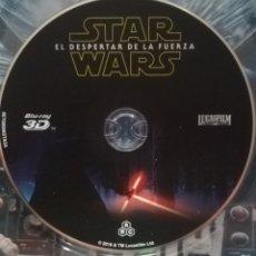 Cine: STAR WARS EL DESPERTAR DE LA FUERZA BLU-RAY 3D (SOLO DISCO). Lote 136052018