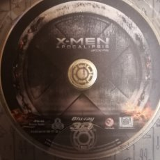Cine: X-MEN APOCALIPSIS-DISCO BLU-RAY 3D. Lote 136124792