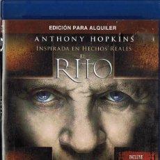 Cine: EL RITO ANTHONY HOPKINS (BLU - RAY). Lote 136197858