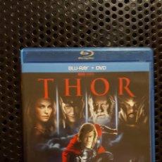 Cine: BLURAY - THOR - BLU-RAY + DVD - DIRIGIDA POR KENNETH BRANAGH - MCU FASE UNO. Lote 136278048