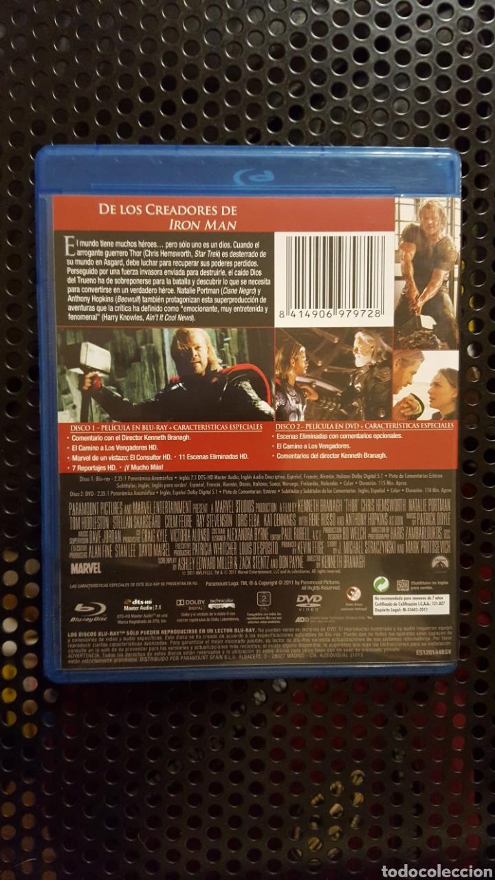 Cine: Bluray - Thor - Blu-ray + dvd - dirigida por Kenneth Branagh - MCU Fase uno - Foto 2 - 136278048