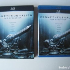 Cine: BLU-RAY - PACK PROMETHEUS TO ALIEN - THE EVOLUTION - 5 DISCOS.. Lote 136719506
