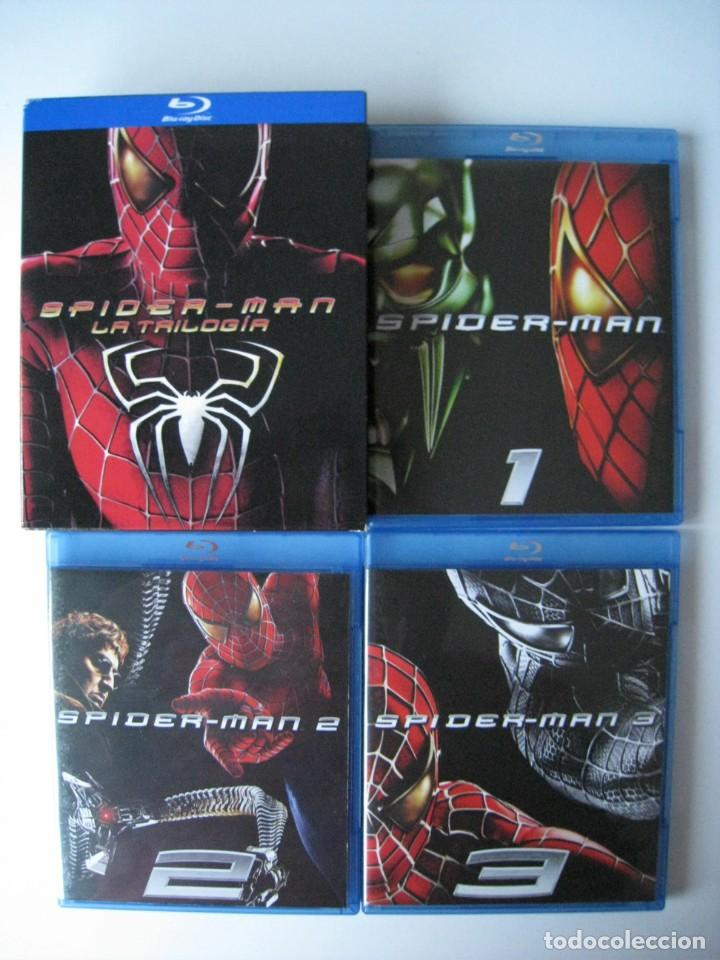 BLU-RAY - PACK SPIDERMAN - LA TRILOGIA - 3 DISCOS. (Cine - Películas - Blu-Ray Disc)