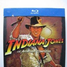 Cine: BLU-RAY - INDIANA JONES , LAS AVENTURAS COMPLETAS.. Lote 136758174