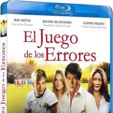 Cine: EL JUEGO DE LOS ERRORES - COMEBACK SEASON (NUEVO). Lote 137544794
