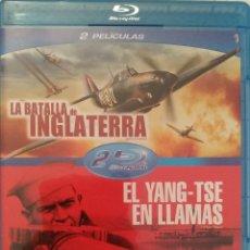 Cine: PACK LA BATALLA DE INGLATERRA + EL YANG-TSE EN LLAMAS (2 BLURAY). Lote 137967694