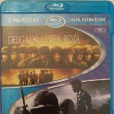 Cine: PACK LA DELGADA LINEA ROJA + TIGERLAND (2 BLURAY). Lote 137968446