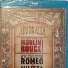 Cine: PACK BAZ LUHRMANN (3 BLURAY). - AUSTRALIA - MOULIN ROUGE - ROMEO + JULIETA. Lote 137969390
