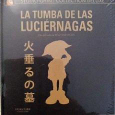 Cine: LA TUMBA DE LAS LUCIERNAGAS DIRIGIDA POR ISAO TAKAHATA (1 BLURAY + 1 DVD). EDICION DELUXE DIGIBOOK. Lote 137973282