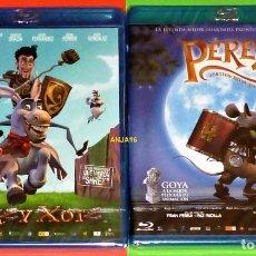 Cine: DONKEY XOTE + PEREZ EL RATONCITO DE TUS SUEÑOS -AREA B- PRECINTADA. Lote 138994906