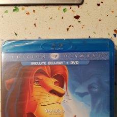 Cine: REY LEÓN EDICIÓN DIAMANTE (BLU RAY +DVD). Lote 139444709