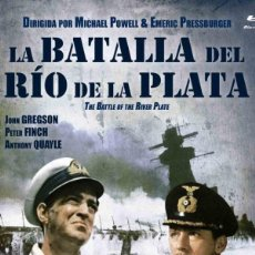 Cine: LA BATALLA DEL RÍO DE LA PLATA (BLU-RAY) - THE BATTLE OF THE RIVER PLATE (NUEVO). Lote 180133670