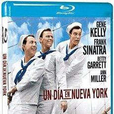 Cine: UN DÍA EN NUEVA YORK BLU-RAY (GENE KELLY, FRANK SINATRA). Lote 139710126
