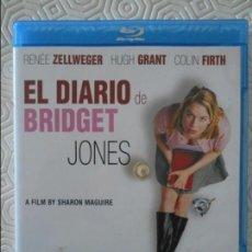 Cine: EL DIARIO DE BRIDGET JONES. BLURAY DE LA PELICULA DE RENEE ZELLWEGER, HUGH GRANT Y COLIN FIRTH. COLO. Lote 140688034