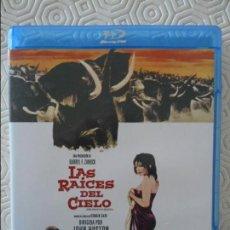 Cine: LAS RAICES DEL CIELO. BLURAY DE LA MEMORABLE PELICULA DE JOHN HUSTON. CON ERROL FLYNN, JULIETTE GREC. Lote 140688290