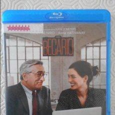 Cine: EL BECARIO. BLURAY DE LA PELICULA DE ROBERT DE NIRO, ANNE HATHAWAY Y RENE RUSSO. COLOR.. Lote 140696742