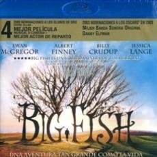 Cine: BIG FISH DIRECTOR: TIM BURTON ACTORES: EWAN MCGREGOR, ALBERT FINNEY, BILLY CRUDUP (BLU-RAY). Lote 141092198