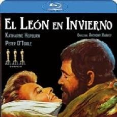 Cine: EL LEÓN EN INVIERNO DIRECTOR: ANTHONY HARVEY ACTORES: PETER O´TOOLE, KATHARINE HEPBURN (BLU-RAY). Lote 141095158