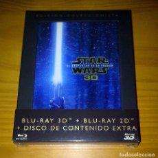 Cine: STAR WARS EPISODIO VII EL DESPERTAR DE LA FUERZA DIGIPAK COMBO BLU-RAY 3D + BLU-RAY 2D PRECINTADO. Lote 141478518
