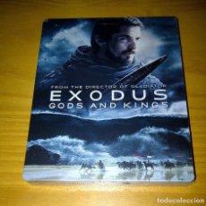 Cine: EXODUS DIOSES Y REYES STEELBOOK METÁLICA COMBO BLU-RAY 3D + BLU-RAY 2D NUEVO PRECINTADO. Lote 141519694
