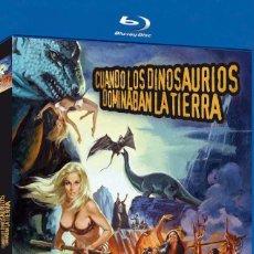 Cine: CUANDO LOS DINOSAURIOS DOMINABAN LA TIERRA (BLU-RAY DISC BD) HAMMER FILMS. Lote 147579040
