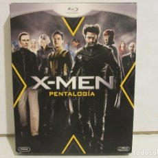 Cine: X-MEN - PENTALOGIA - 5 X BLURAY - 2012 - DESCATALOGADO - EX+/EX+. Lote 142428830