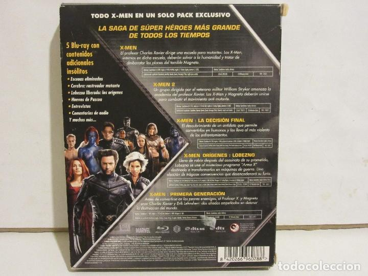 Cine: X-MEN - PENTALOGIA - 5 x BLURAY - 2012 - Descatalogado - EX+/EX+ - Foto 2 - 142428830