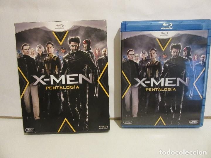 Cine: X-MEN - PENTALOGIA - 5 x BLURAY - 2012 - Descatalogado - EX+/EX+ - Foto 3 - 142428830