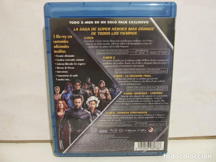 Cine: X-MEN - PENTALOGIA - 5 x BLURAY - 2012 - Descatalogado - EX+/EX+ - Foto 4 - 142428830