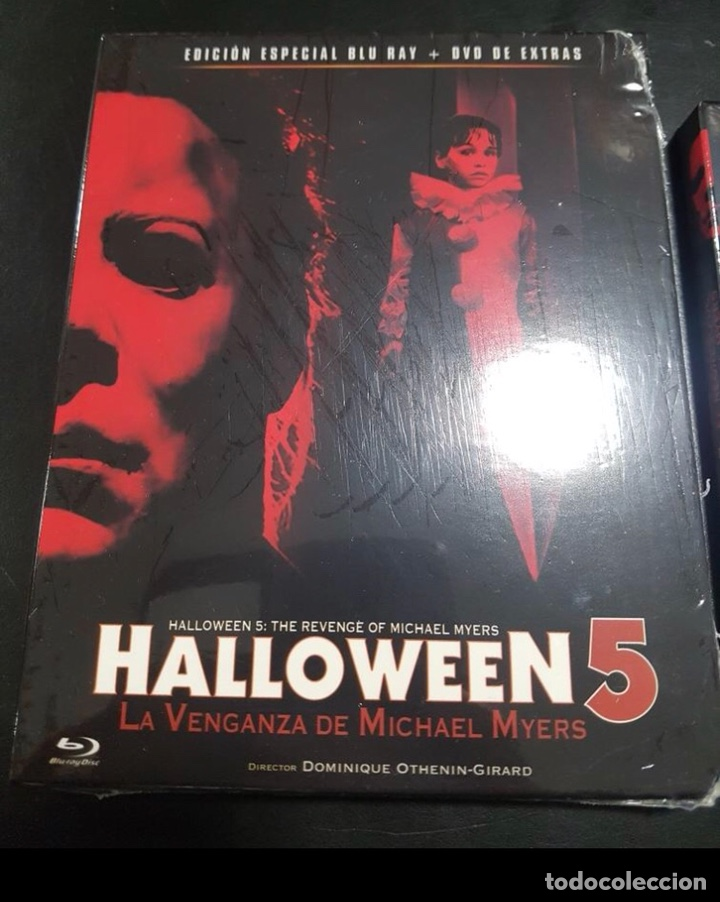 Halloween 5 Blu Ray.Halloween 4 Y 5 Ediccion Especial Dvd Extras Bluray Precindatas