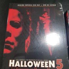 Cine: HALLOWEEN 4 Y 5 EDICCION ESPECIAL DVD +EXTRAS BLURAY PRECINDATAS. Lote 143088364