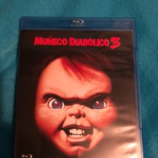 Cine: MUÑECO DIABOLICO 3 DESCATALOGADA!UNICA EN TODOCOLECCION EN BLURAY. Lote 143441233
