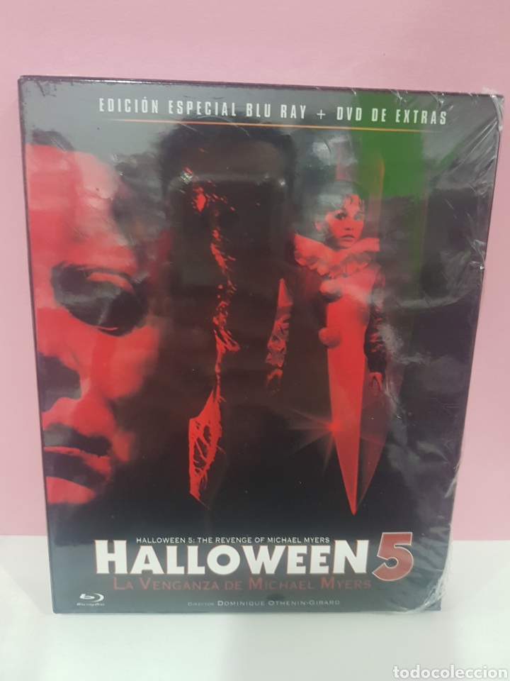 Halloween 5 Blu Ray.Halloween 5 Bluray Dvd Extras Precintado