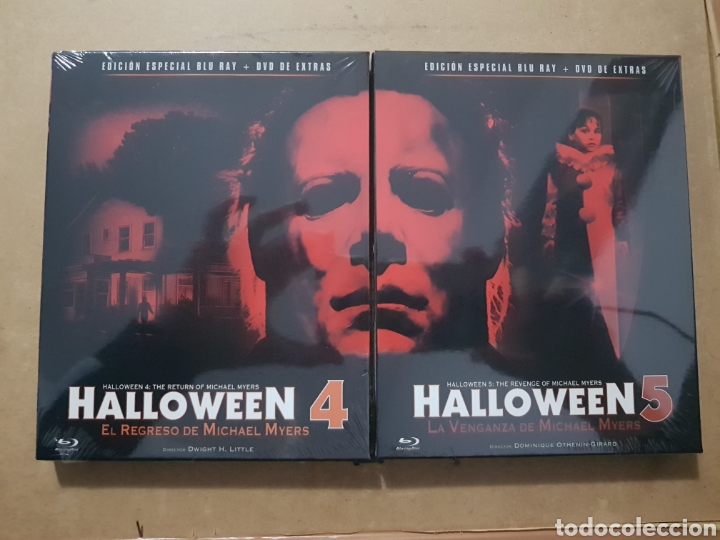 Halloween 5 Blu Ray.Resen Pack Halloween 4 Y 5 Bluray Nuevo P Sold Through Direct