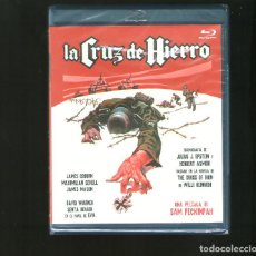 Cine: LA CRUZ DE HIERRO (CROSS OF IRON - 1977) BLU RAY NUEVO PRECINTADO. Lote 143941698