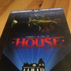 Cine: HOUSE - SAGA COMPLETA BLU-RAY EDICIÓN ESPECIAL. Lote 143993081
