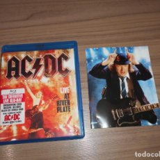 Cine: ACDC AC DC LIVE AT RIVER PLATE EDICION ESPECIAL BLU-RAY DISC + LIBRETO. Lote 143993882