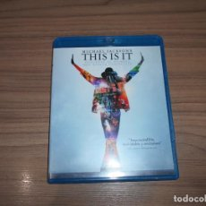 Cine: MICHAEL JACKSON THIS IS IT BLU-RAY DISC. Lote 143993970