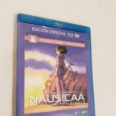 Cine: NAUSICAA DEL VALLE DEL VIENTO BLU RAY Y DVD. Lote 144070206