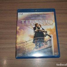 Cine: TITANIC EDICION ESPECIAL 2 BLU-RAY DISC COMO NUEVO. Lote 144208410