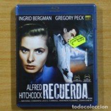 Cine: ALFRED HITCHCOCK - RECUERDA - BLU RAY. Lote 144958788