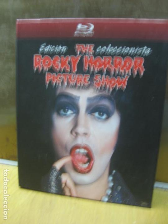THE ROCKY HORROR PICTURE SHOW.EDICION COLECCIONISTA. UN BLU-RAY + UN DVD + UN LIBRO EXCLUSIVO. (Cine - Películas - Blu-Ray Disc)